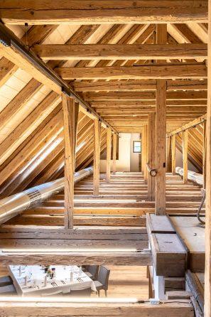 Dachbodenansicht