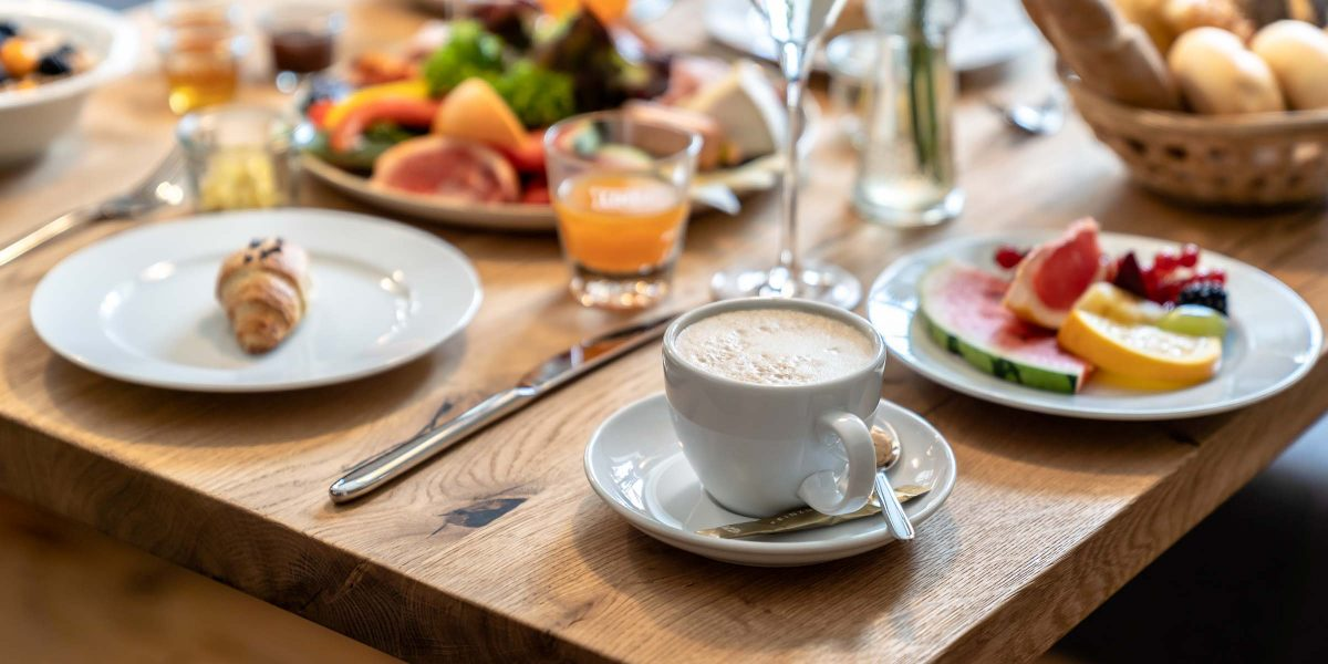 Breakfast table