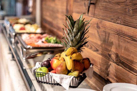 Fruit selection, buffet